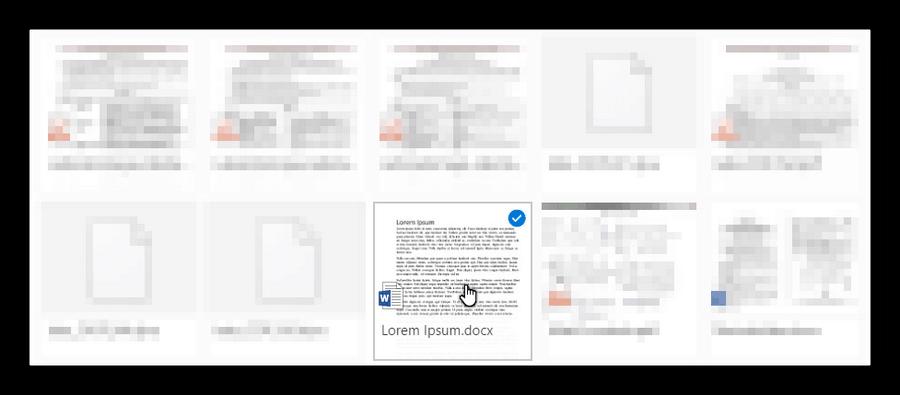 Открываем файл в MS Word Online