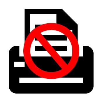 Почему не печатает принтер с компьютера, если он подключен