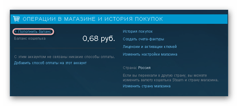 Аккаунт Стим