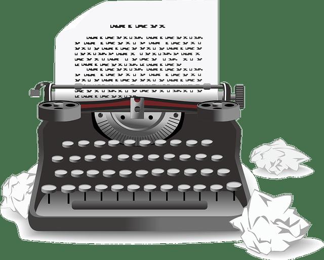 Иконка печатной машинки