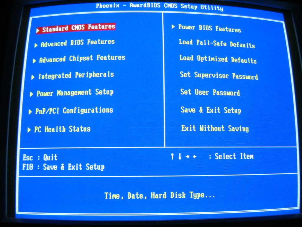 Как зайти в BIOS на ноутбуке Acer