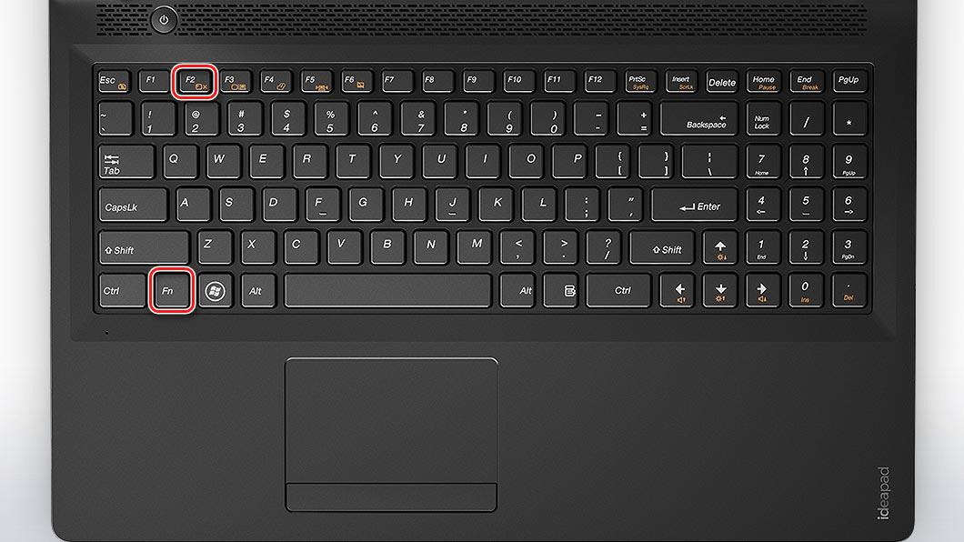 Клавиатура Fn+F2