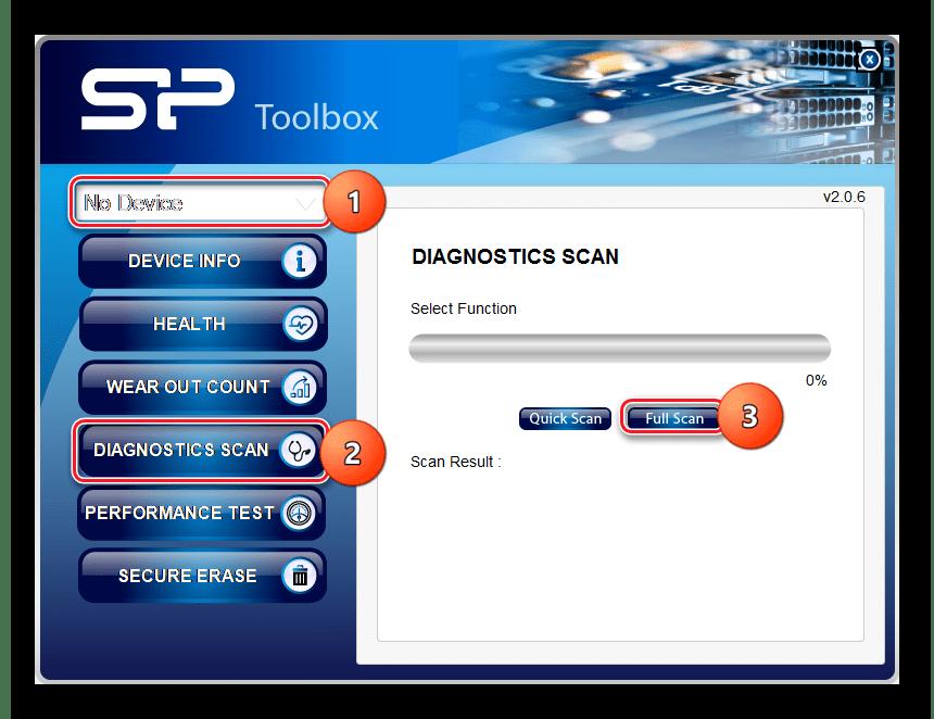 SP Toolbox диагностика