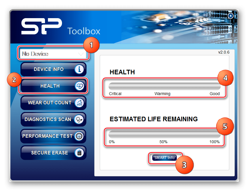 SP Toolbox health