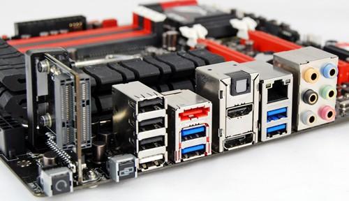 USB BIOS Flashback задняя панель МП