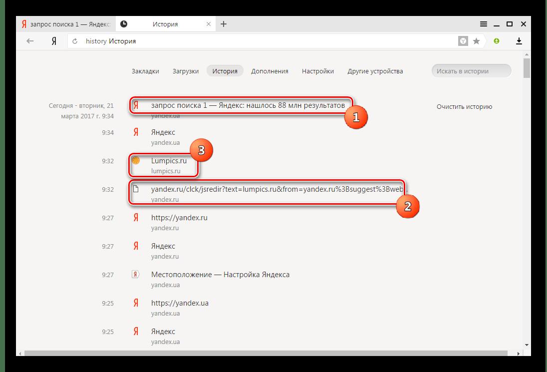 яндекс браузер виды поиска