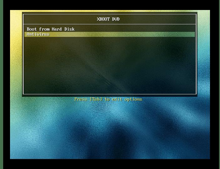 Xboot интерфейс в Bios