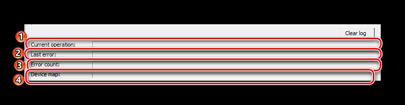 панель данных usb flash drive tester