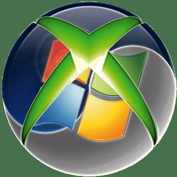 Логотип Xbox 360 и Windows