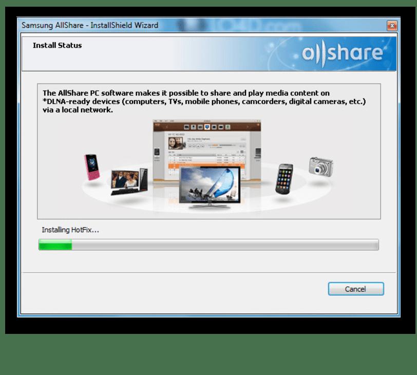 Установка Samsung Allshare на компьютер