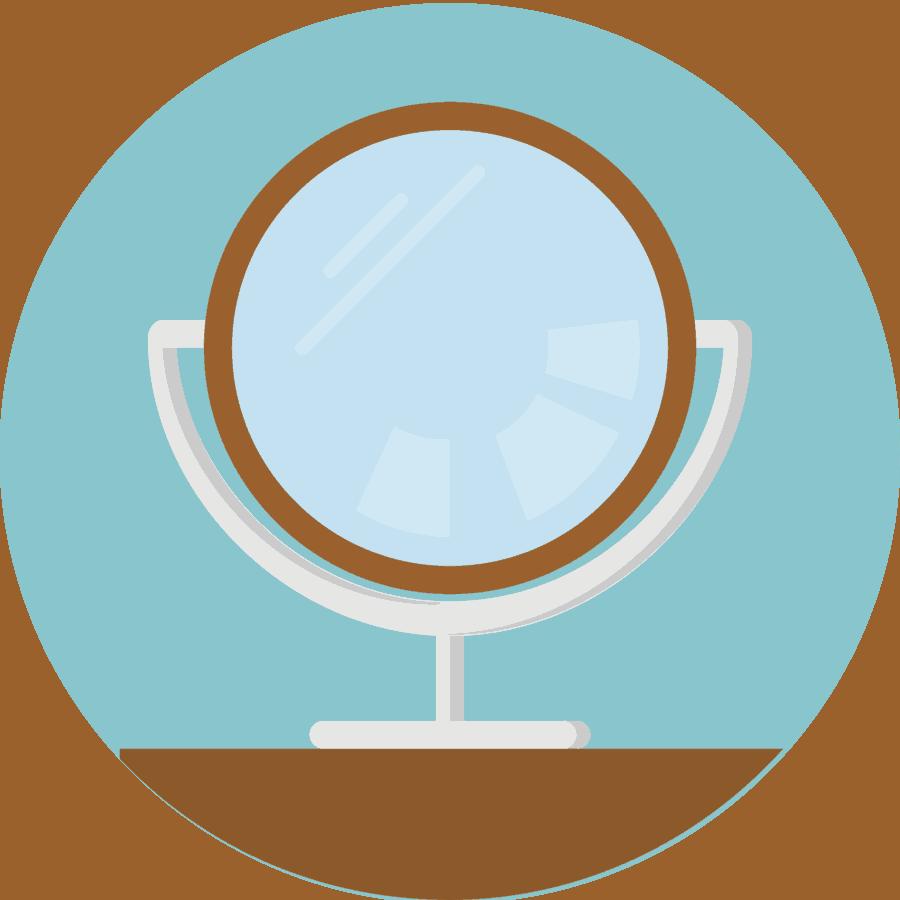 Вступительное изображение зеркало
