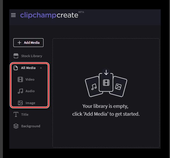 Загрузка файлов на сайт Clipchamp